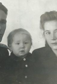 Оголихины Лев Георгиевич, Людмила Алексеевна и Слава 1946